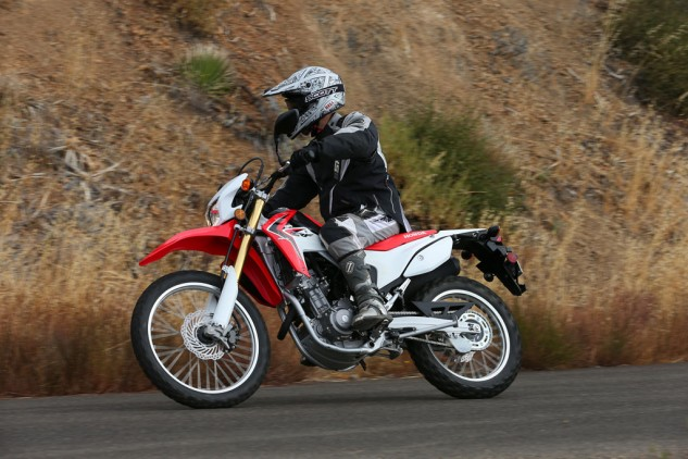 The CRF250L has one of the smoothest-running small-displacement Singles on the market, thanks in part to the engine's counterbalancer.