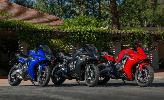 2014 Honda CBR650F Colors