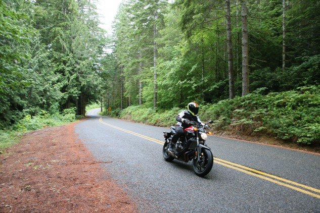 Get the FZ-07 onto some backroads, twist the throttle and hang on for a highly enjoyable experience.