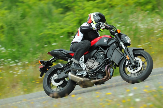 The FZ-07 impresses on so many levels, I wasn't the only one at the intro making comments about how I prefer the 07 over the impressive 09.