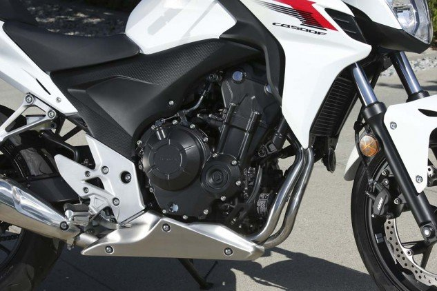 According to Honda, the parallel-Twin powering both both bikes weighs only 116 pounds.