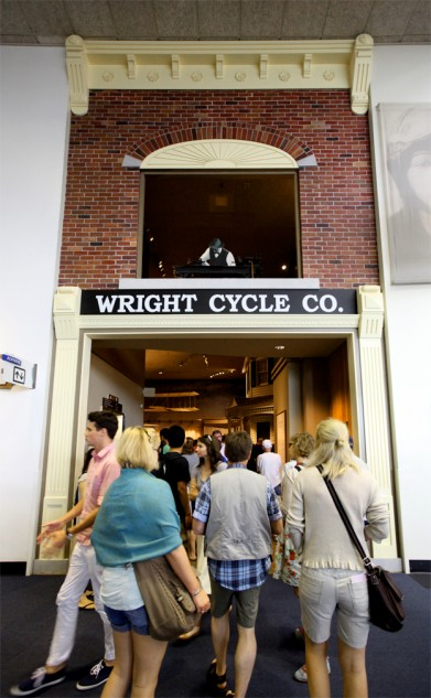 Like Harley-Davidson the Wright Brothers got their start by making bicycles.