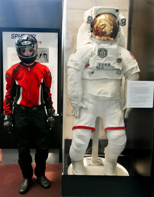 After more than a century, flying and riding gear still look essentially the same.