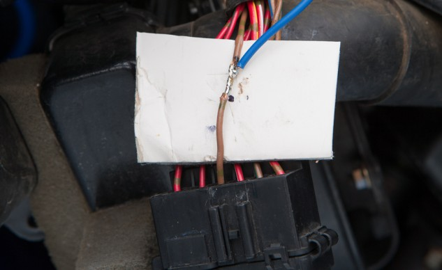 A well soldererd connection will have the solder drawn into the twisted wires, themselves. If the solder is just clumped on the outside of the connection, you're not heating the wires enough.