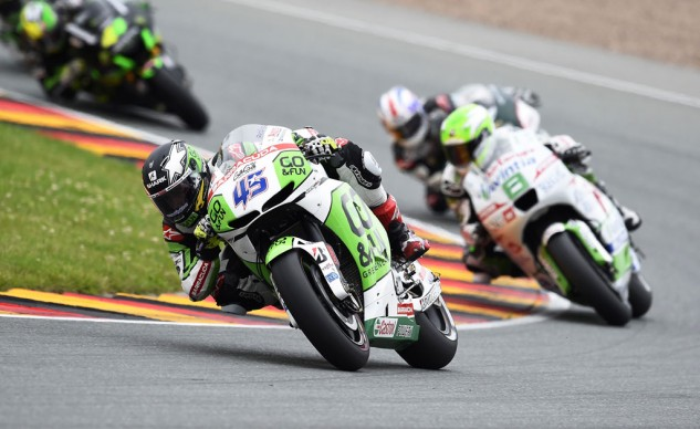 Scott Redding led the RCV1000R charge, finishing just outside the top 10.