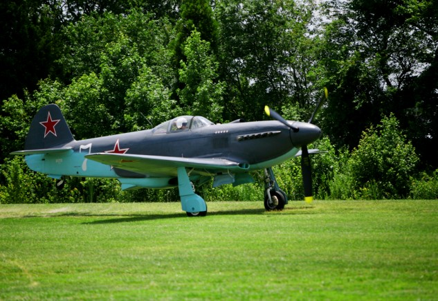 "The Military Aviation Museum is a ""living"" museum with most of its aircraft, like this Yak-3M, in flying condition."