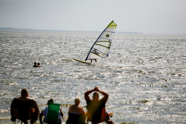 Canadian Hole is considered one of the prime sites for wind surfing and kite boarding on the East Coast.
