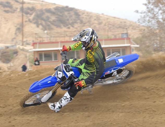 We already knew that the 2014 YZ250F ripped, and the 2015 edition is no different. Ace test rider Ryan Abbatoye put our test bike through its paces at Glen Helen and reported that the 2015 makes all the forward thrust that made the '14 so awesome, and the revised ECU calibration makes it easier than ever to haul the mail.