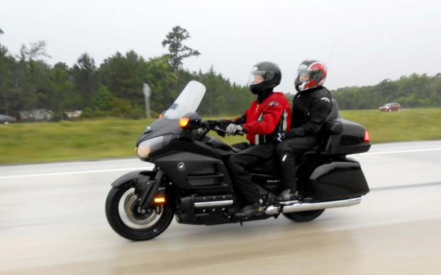 Photo by Kendra CowgerWho's idea was it to ride to Florida in monsoon season?