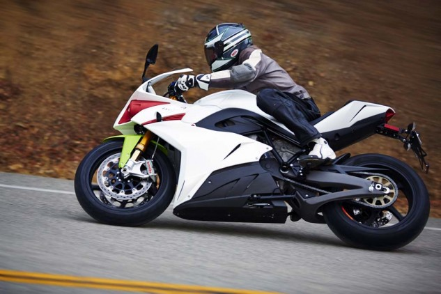 The Ego's riding position is committedly sporty, but discomfort won't set in with just 60 to 90 miles of range.
