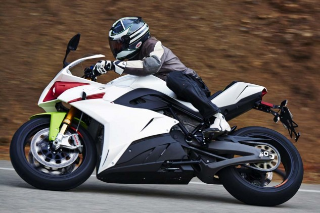 The Energica Ego 45 - better living through electrons.