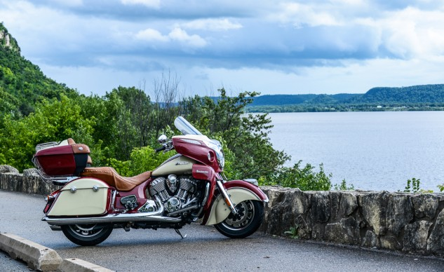The differences between the Indian Roadmaster and the Chieftain largely fall under the headings of luggage capacity and rider comfort.