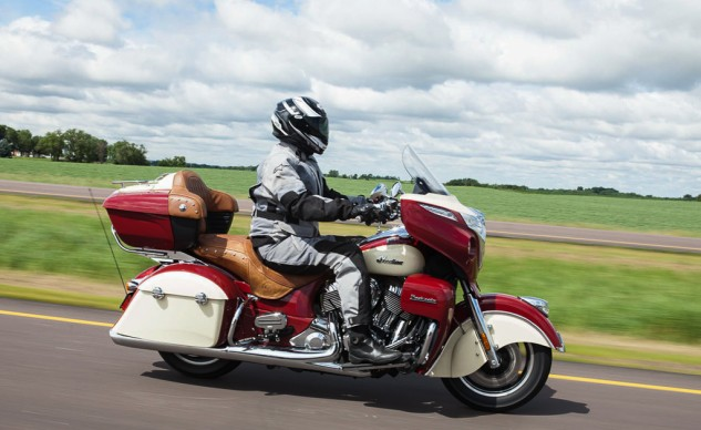 The Roadmaster works every bit as well as its sibling, the Chieftain.