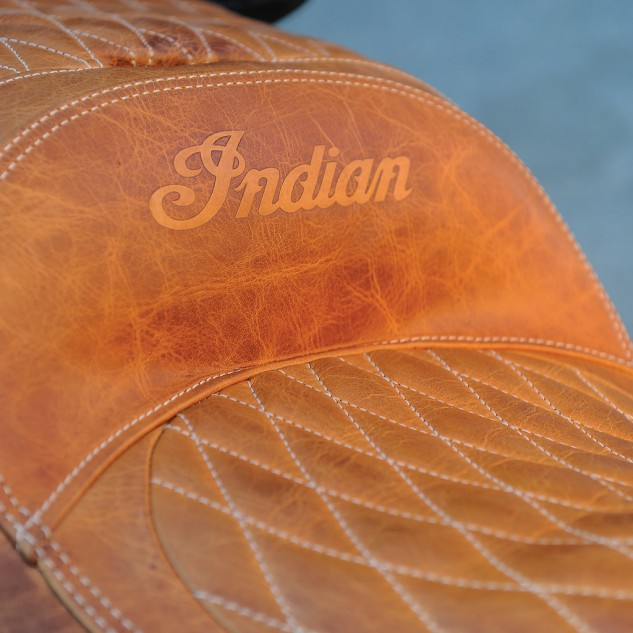 The Roadmaster's seat has more padding and will better resist scuffing and UV-related fading.