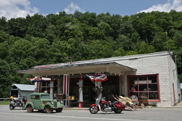 Tom Shipley's country store, established in 1926.