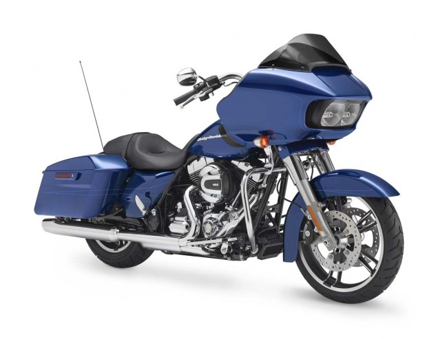Of the two Glide models only the Special comes equipped with H-D's Reflex linked brakes with ABS.