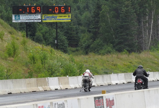 King of the North Dragway Timing System