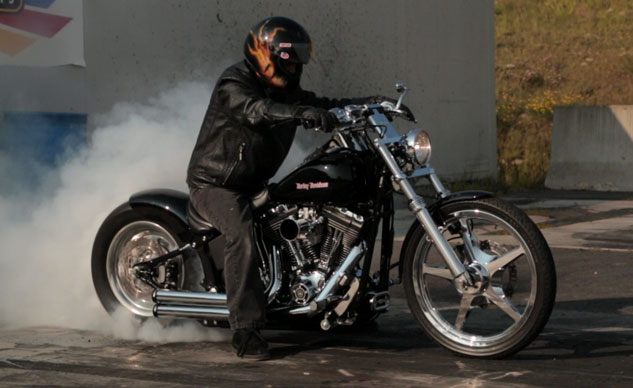 King of the North Dragway Custom Harley-Davidson