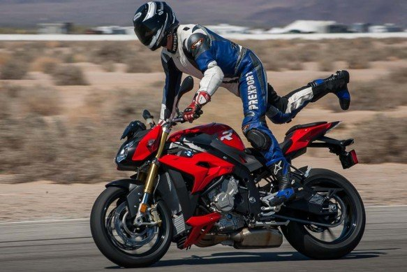 """It's the motorcycle version of Dancing with the Stars,"" an enamored Evans Brasfield said after a day at the track with the S1000R."