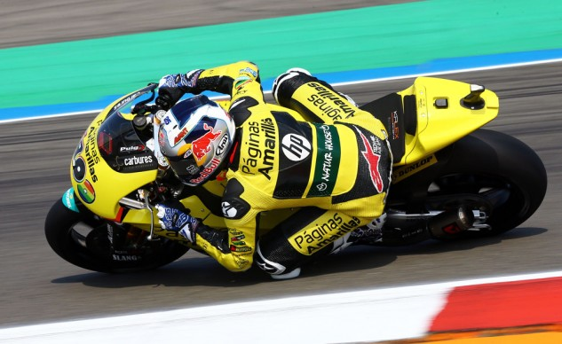 Maverick Vinales is one of the rising stars of Moto2 expected to make the jump to MotoGP next season.