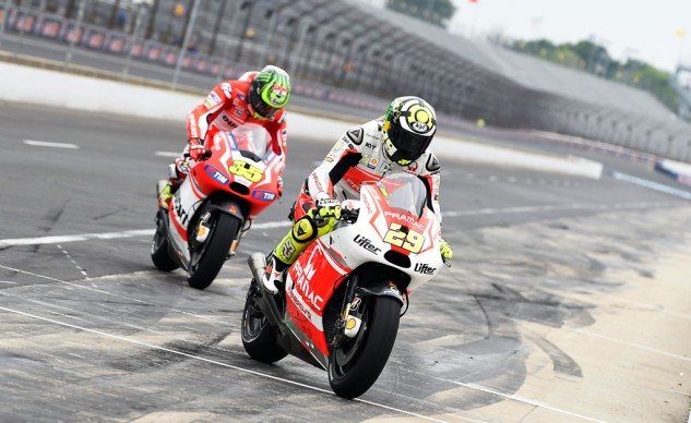 Andrea Iannone will take Cal Crutchlow's place with Ducati's factory team next season.
