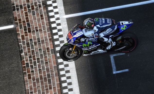 Jorge Lorenzo scored just his fourth podium this season, but his second in a row. He'll try to continue that momentum next week at Brno.