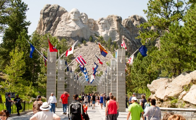 Mount Rushmore is a must-see for Sturgis first-timers.