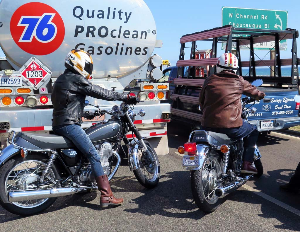 All Roads In Socal Lead To Lane Splitting Eventually And Not Many Bikes Are