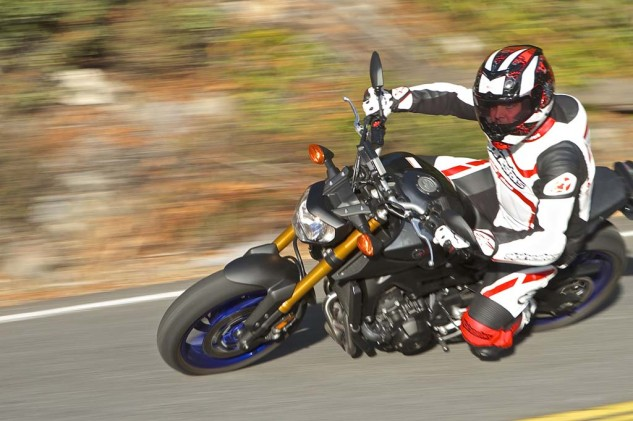 Outshining the FZ-09 in this year's MOBO awards is its little brother, the FZ-07.