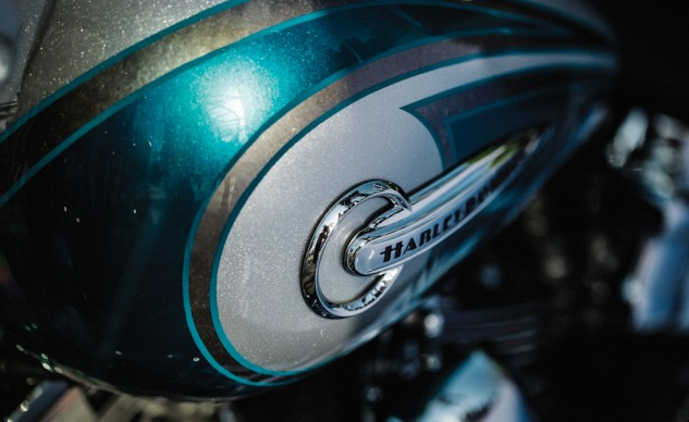Harley CVO Softail Deluxe tank
