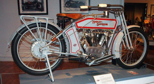"1914 H-D in factory ""Silent Gray Fellow"" trim."