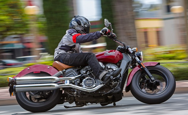 """""""Wow, an amazing bike at an incredible price. Forget the fact it's a first-year effort from Polaris/Indian."""" – Troy Siahaan"""