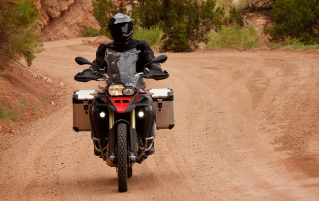 2014 BMW F800GS Action Front