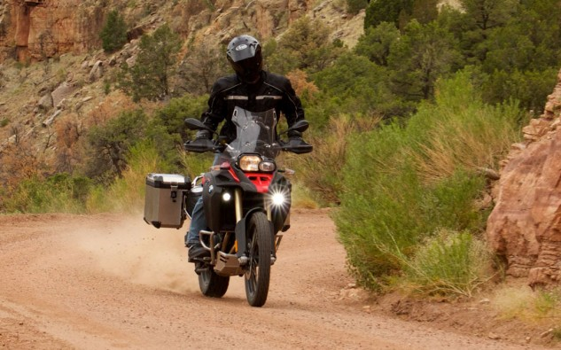 2014 BMW F800GS Action Off-Road