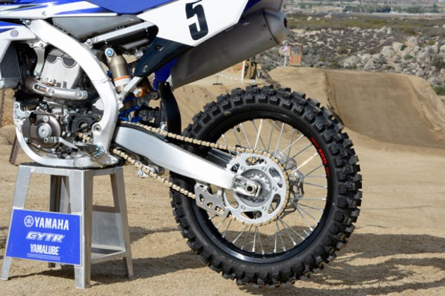 2015 Yamaha YZ450F Rear