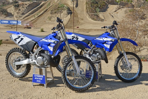 2015 Yamaha YZ125 and YZ250 Styling