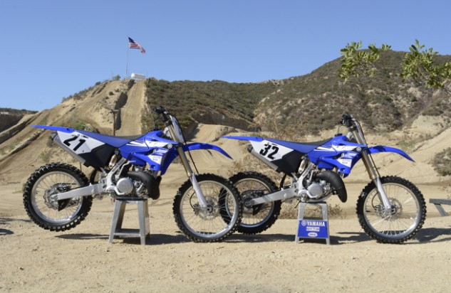 2015 Yamaha YZ250 and YZ125