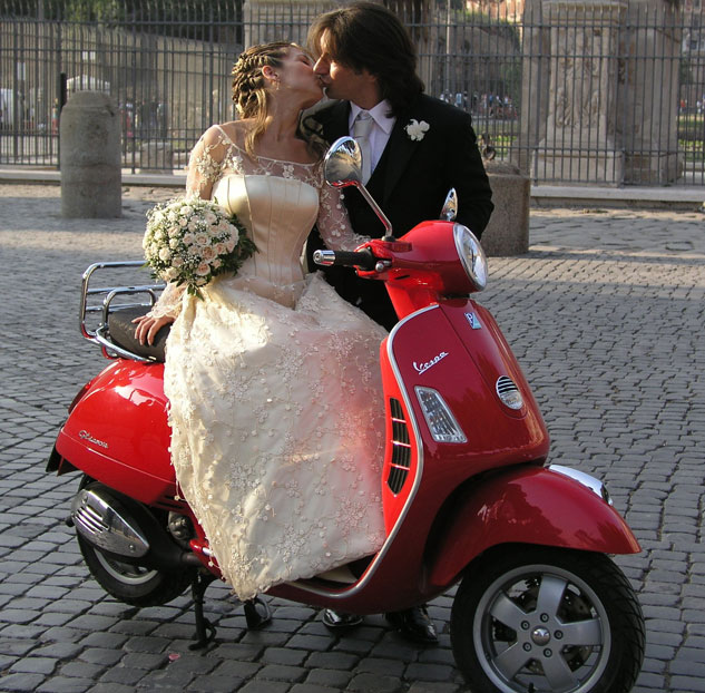 Scooter Wedding