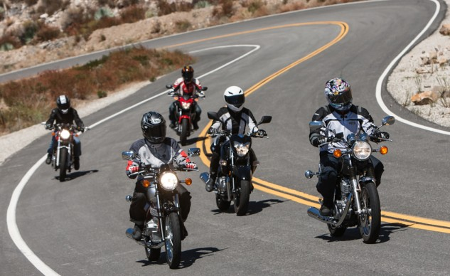 Five beginner bikes, and not one is a CBR or a Ninja. See? You have options. This is America.