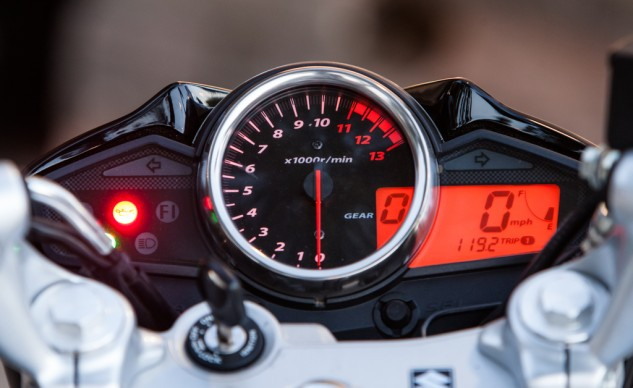 We like the GW's instrument cluster, as it's easy to read and the only one with a gear-position indicator. Just be prepared to see the tach needle pointing vertical whenever highway speeds are involved.