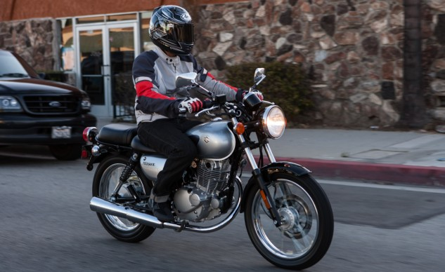 An extremely competent beginner motorcycle, the TU excels in an urban environment. Unfortunately, its price tag can be hard to swallow.