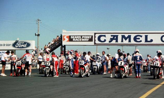 Sears Point 1986