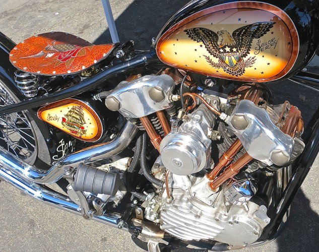 Sailor Jerry 1939 Harley-Davidson Knucklehead