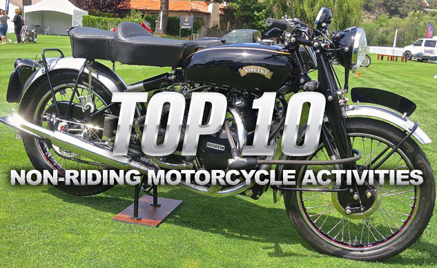 Top 10 Non-Motorcycle Riding Activities
