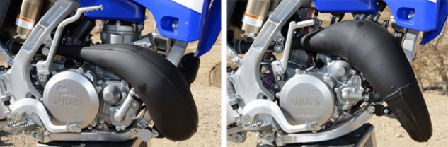 2015 Yamaha YZ125 and YZ250 Motors