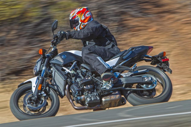 """""""The FZ feels tight, narrow and like you're almost over the front wheel,"""" says Troy S."""