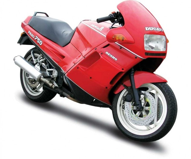 The Ducati Paso 750, Czysz's first Ducati.