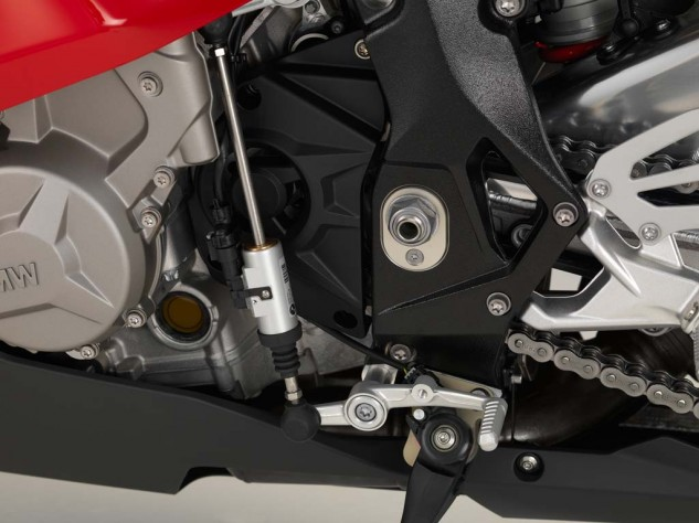 Move the Gear Shift Assist Pro linkage from its attachment point at the front of the shift lever to the attachment point nearer your toe and, voila, you've a GP shift pattern.