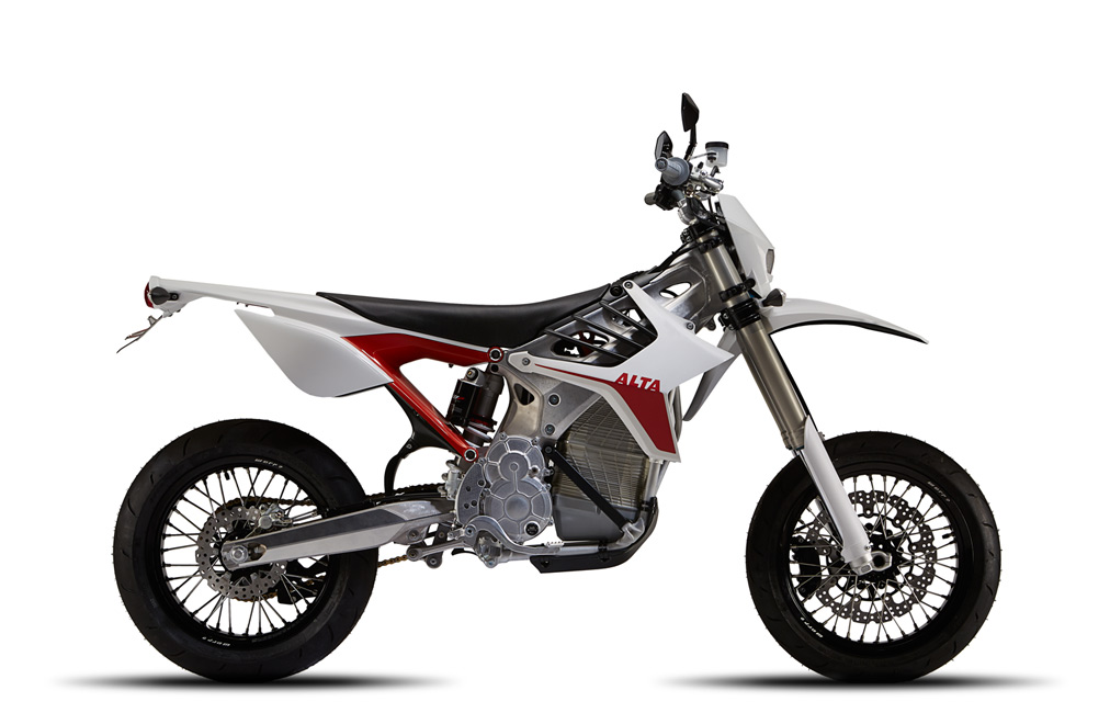 2015 Alta Motors RedShift MX and SM Preview + Video