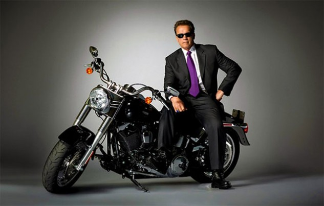 The Governator was AMA Motorcyclist of the Year in 2010, but it was actually a smackdown because he signed California AB 435 into law.